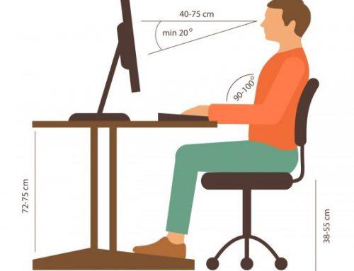 Wie sitzt man richtig?