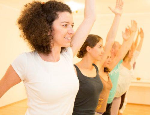 Yoga beim Gesundheitstag