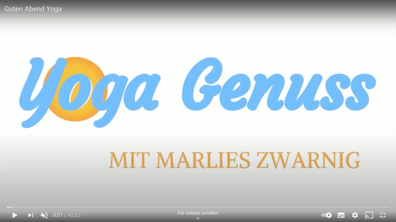 Yoga Genuss Marlies